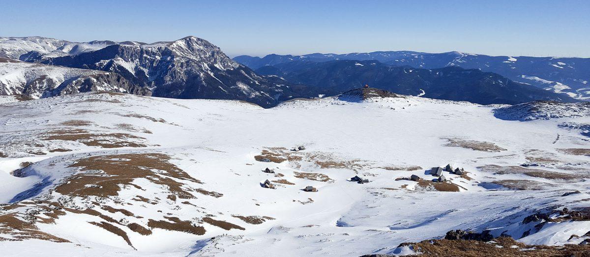 4. Skitour: Altenberg – Kutatschhütte – Windberg (1.904m) – Blarergraben
