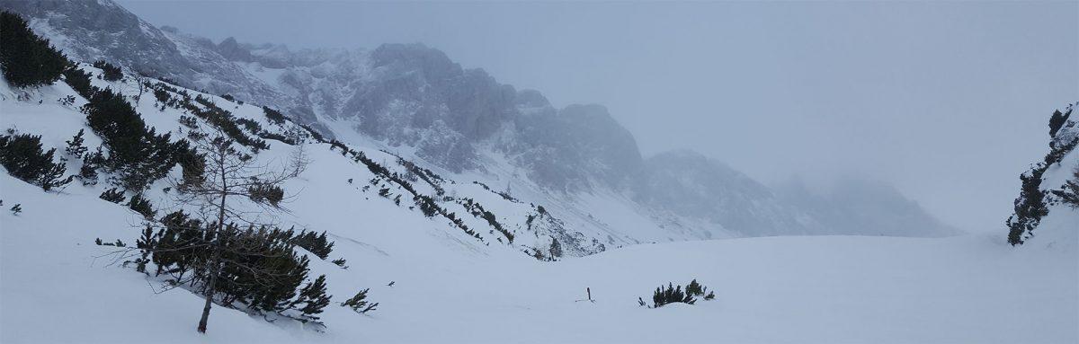 7. Skitour: Seewiesen – Hochschwab (2.277m) – abgebrochen