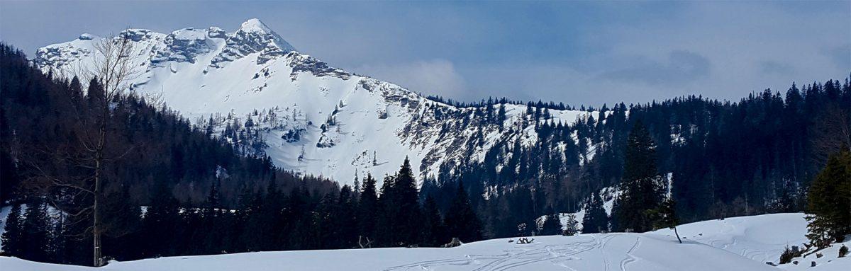 9. Skitour: Durchs Nappental auf den Hochstadl (1.919m)