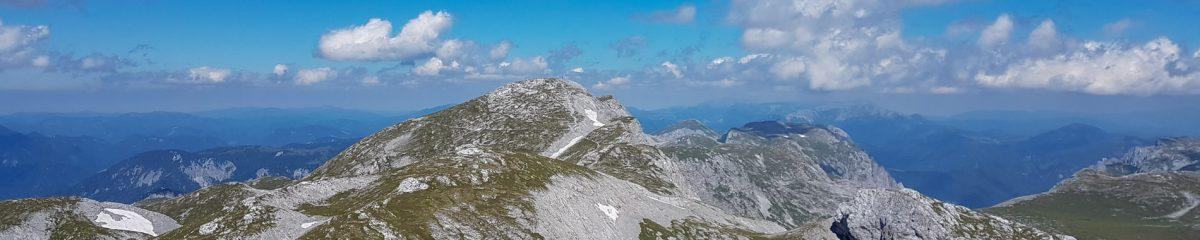 Wanderung: G'hackte – Hochschwab (2.277m) – Zagelkogel – Hochwart