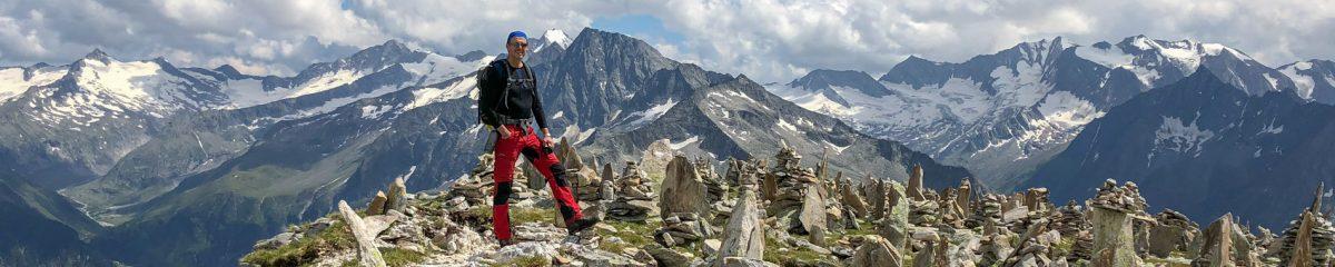 Hochtour: Vom Schlegeisspeicher auf den Hohen Riffler (3.231m)