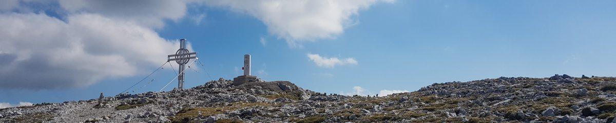 Klettersteig: Haidsteig – Königschusswandsteig – Preinerwandsteig