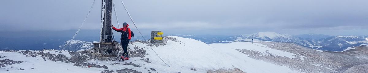 39. Skitour: Brunnalm – Hohe Veitsch