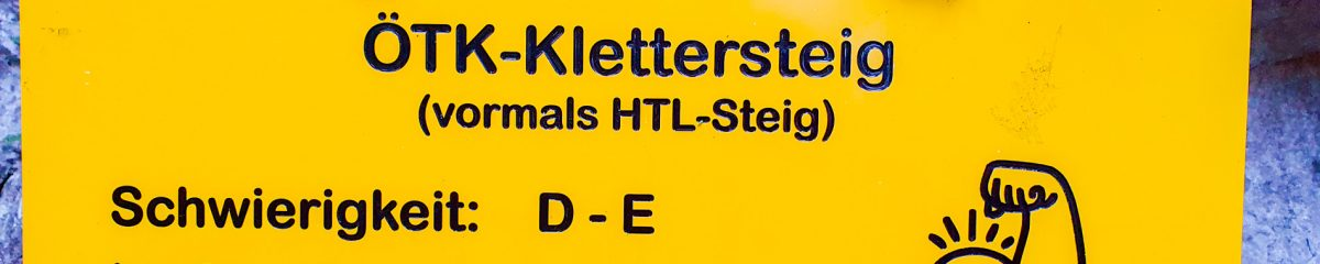 Klettersteig: ÖTK-Steig – Blutspur