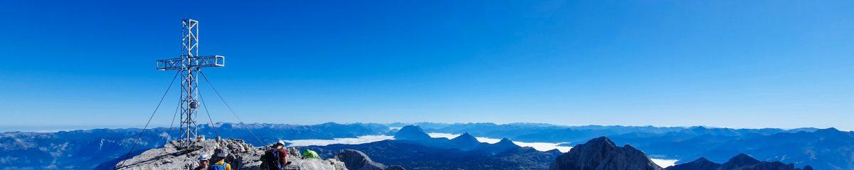 Hochtour: Hunerschartensteig – Hunerkogelsteig – Hoher Dachstein (2.995m)