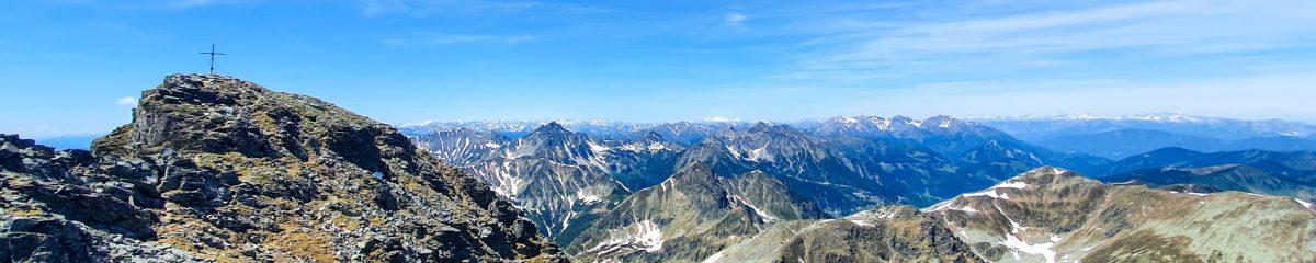 Bergsteigen: Ingering – Hochreichhart – Hirschkarlgrat – Geierhaupt